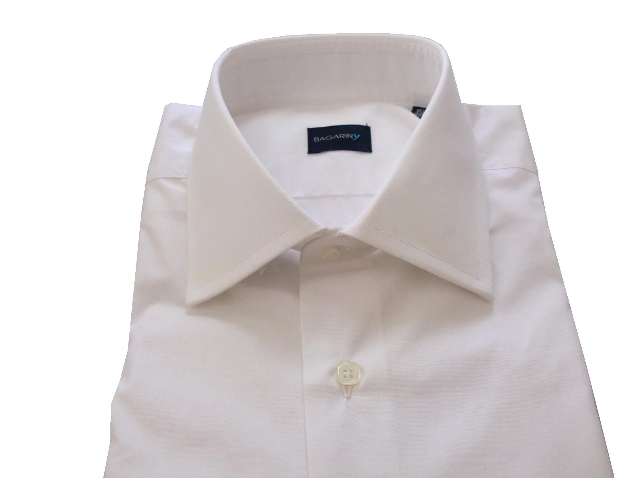 Camicia Uomo artigianale bianca collo francese 100/% cotone fatta a mano